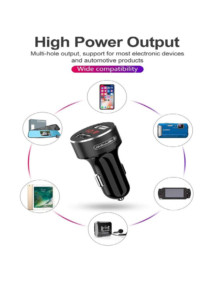 Jellico HC-20 3.1A USB Car Charger
