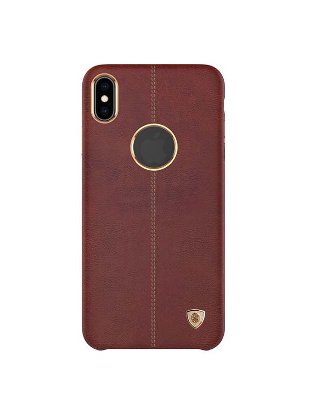 Nillkin Leather Case For Apple iPhone XS Max Luxury Back Cover Brown (5462232760481)