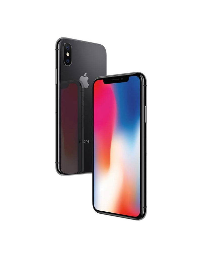 "Apple iPhone X 64GB 3GB Ram 12MP Dual Rear Camera 5.8"" Display Space Grey Unlocked (Refurbished)"