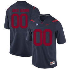 Load image into Gallery viewer, Arizona Wildcats Jersey - Custom Blue Jersey - Any Name and Number
