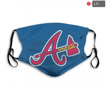 Load image into Gallery viewer, Atlanta Braves Face Mask - Reuseable, Fashionable, Several Styles
