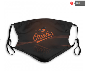 Baltimore Orioles Face Mask - Reuseable, Fashionable, Several Styles