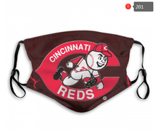 Load image into Gallery viewer, Cincinnati Reds Face Mask - Reuseable, Fashionable, Several Styles