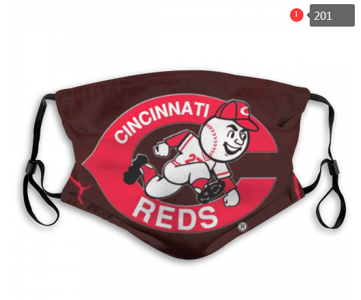 Cincinnati Reds Face Mask - Reuseable, Fashionable, Several Styles