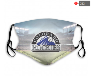 Colorado Rockies Face Mask - Reuseable, Fashionable, Several Styles