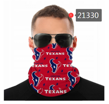Load image into Gallery viewer, Houston Texans Face Mask - Bandana, Neck Gaiter,  Reuseable, Washable