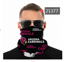Load image into Gallery viewer, Arizona Cardinals Face Mask - Bandana, Neck Gaiter, Reuseable, Washable