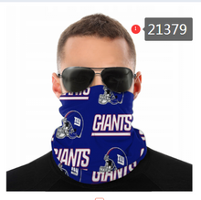 Load image into Gallery viewer, New York Giants Face Mask - Bandana, Neck Gaiter, Reuseable, Washable