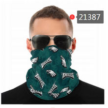 Load image into Gallery viewer, Philadelphia Eagles Face Mask - Bandana, Neck Gaiter, Reuseable, Washable