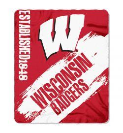 Wisconsin Badgers Blanket -