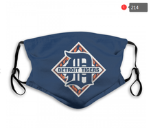 Load image into Gallery viewer, Detroit Tigers Face Mask - Reuseable, Fashionable, Washable