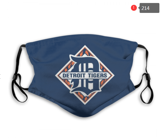 Detroit Tigers Face Mask - Reuseable, Fashionable, Washable