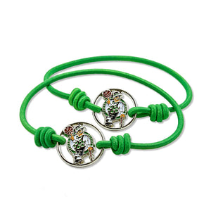 NBA Boston Celtics Stretch Bracelet/Hair Tie Set