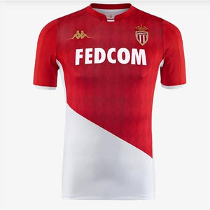 AS Monaco Home 19/20 Jersey - Custom Any Name or Number