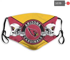 Arizona Cardinals Face Mask- Reuseable, Fashionable, Several Styles