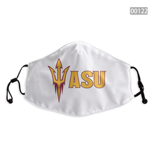 Load image into Gallery viewer, Arizona State Sun Devils Face Mask - Reuseable, Fashionable, Washable