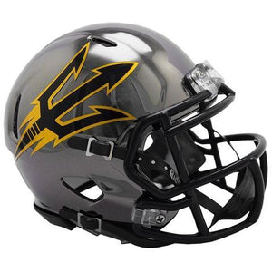 Arizona State Sun Devils Helmet - Chrome Mini Football Helmet