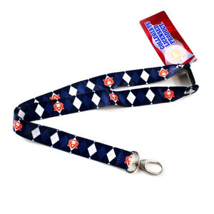 Auburn Tigers Lanyard - Argyle Lanyard Clip Keychain Key Ring Badge Ticket Holder
