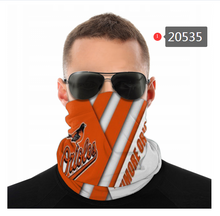 Load image into Gallery viewer, Baltimore Orioles Face Mask - Bandana, Neck Gaiter, Reuseable, Washable