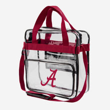 Load image into Gallery viewer, Alabama Crimson Tide Tote Bag - Clear Messenger