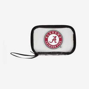 Alabama Crimson Tide Purse - Clear Wristlet