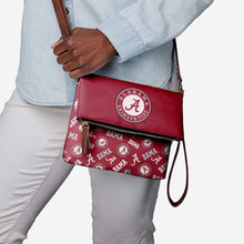 Load image into Gallery viewer, Alabama Crimson Tide Purse - Printed Collection Repeat Logo Wristlet