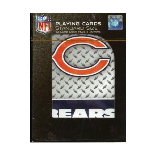 Chicago Bears Playing Cards - Diamond Plate