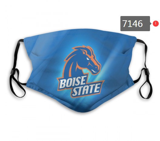 Boise State Broncos Face Mask - Reuseable, Fashionable, Washable