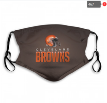 Load image into Gallery viewer, Cleveland Browns Face Mask- Reuseable, Fashionable, Several Styles