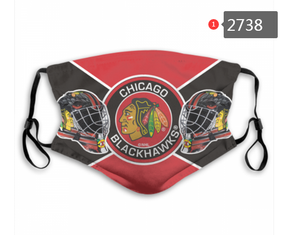 Chicago Blackhawks Face Mask - Reuseable, Fashionable, Washable, Several Styles