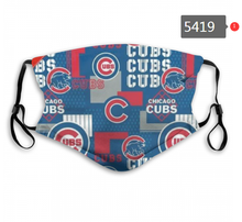 Load image into Gallery viewer, Chicago Cubs Face Mask - Reuseable, Fashionable, Several Styles