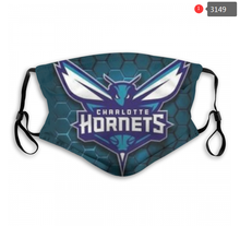 Load image into Gallery viewer, Charlotte Hornets Face Mask - Reuseable, Fashionable, Washable