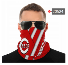Load image into Gallery viewer, Cincinnati Reds Face Mask - Bandana, Neck Gaiter, Reuseable, Washable
