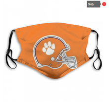 Load image into Gallery viewer, Clemson Tigers Face Mask - Reuseable, Fashionable, Several Styles