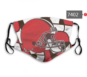 Cleveland Browns Face Mask- Reuseable, Fashionable, Several Styles
