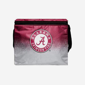 Alabama Crimson Tide Cooler - Big Logo Gradient 6 Pack Cooler