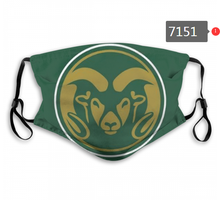 Load image into Gallery viewer, Colorado State Rams Face Mask - Reuseable, Fashionable, Washable