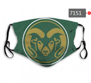Colorado State Rams Face Mask - Reuseable, Fashionable, Washable