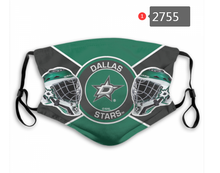 Load image into Gallery viewer, Dallas Stars Face Mask - Reuseable, Fashionable, Washable, Several Styles