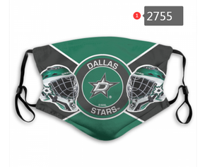 Dallas Stars Face Mask - Reuseable, Fashionable, Washable, Several Styles
