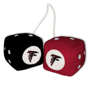 Atlanta Falcons Dice - Plush Fuzzy Dice