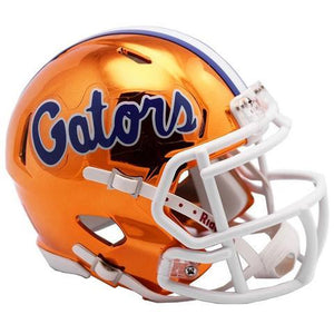 Florida Gators Helmet - Chrome Mini Football Helmet