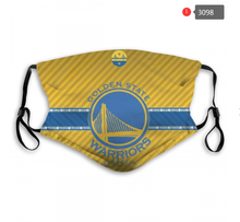 Load image into Gallery viewer, Golden State Warriors Face Mask - Reuseable, Fashionable, Washable