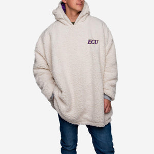 East Carolina Pirates Hoodie - Reversible Big Logo