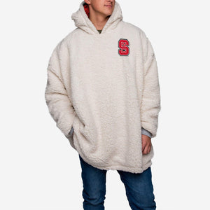 North Carolina State Wolfpack Hoodie - Reversible Big Logo