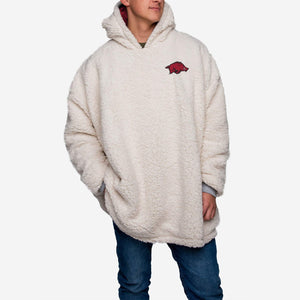 Arkansas Razorbacks Hoodie - Reversible Big Logo