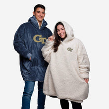 Load image into Gallery viewer, Georgia Tech Yellow Jackets Hoodie - Reversible Big Logo
