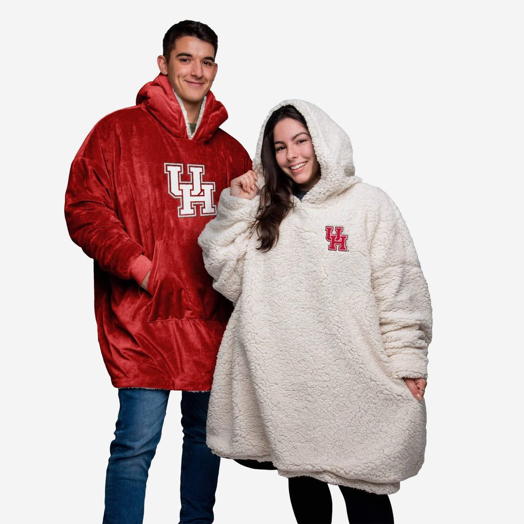 Houston Cougars Hoodie - Reversible Big Logo