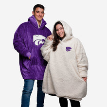 Load image into Gallery viewer, Kansas State Wildcats Hoodie - Reversible Big Logo