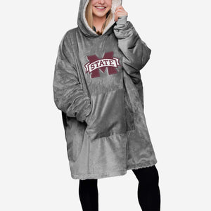 Mississippi State Bulldogs Hoodie - Reversible Big Logo